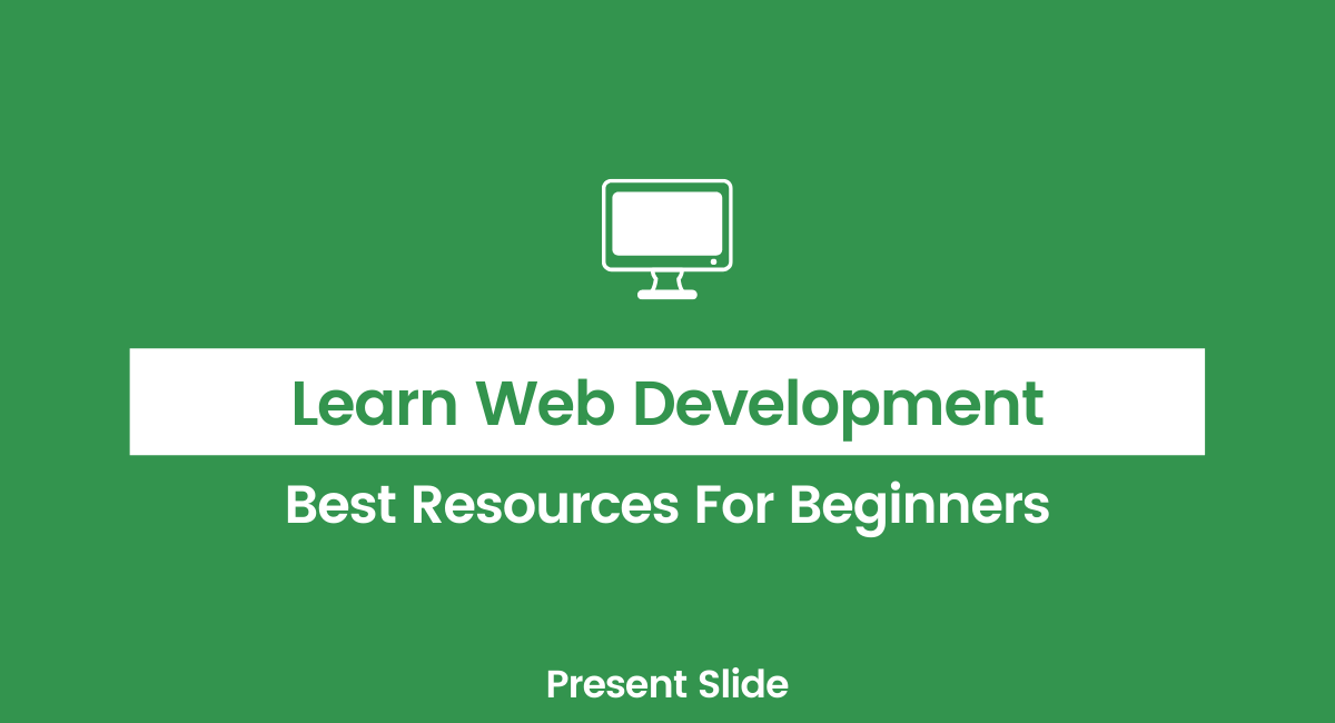 Resources for learning web development