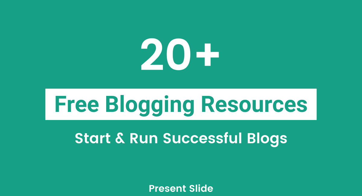 Free Blogging Resources 2020
