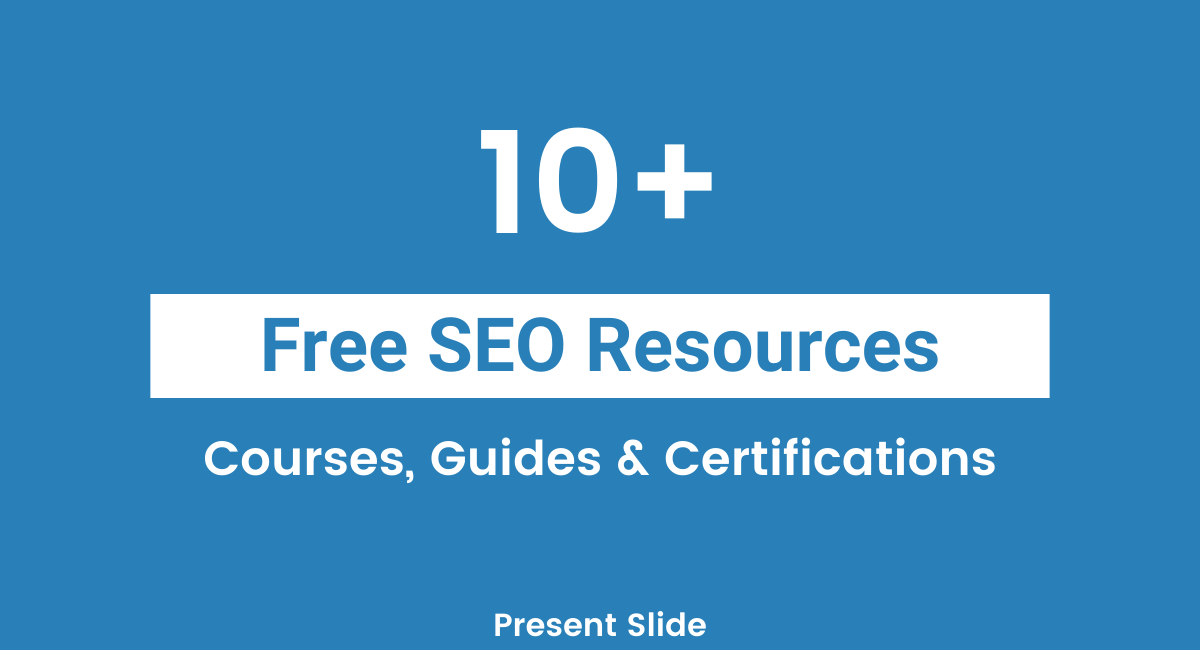 Some Free SEO Courses 2020