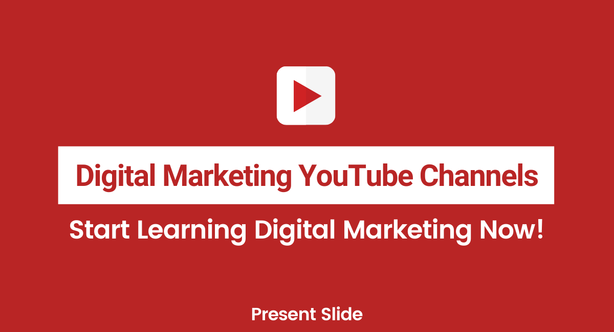 Best Digital Marketing YouTube channels