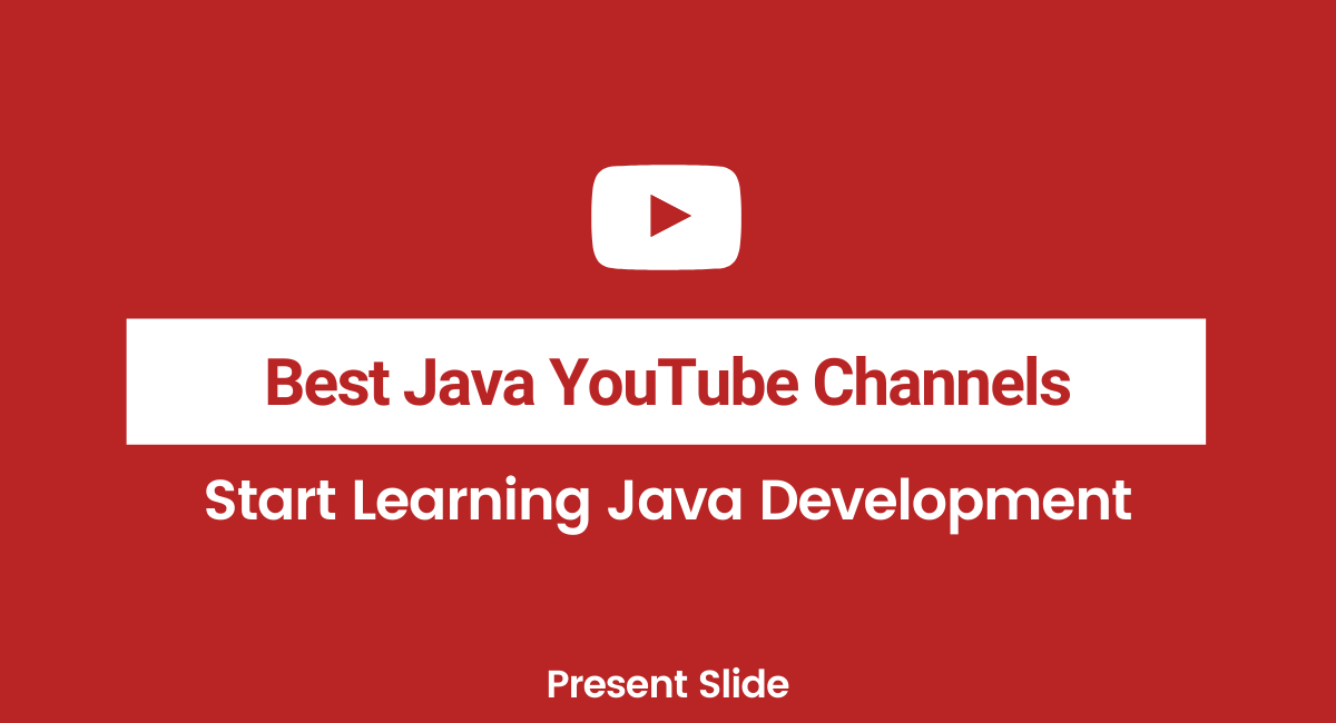 Best Java YouTube channels programming
